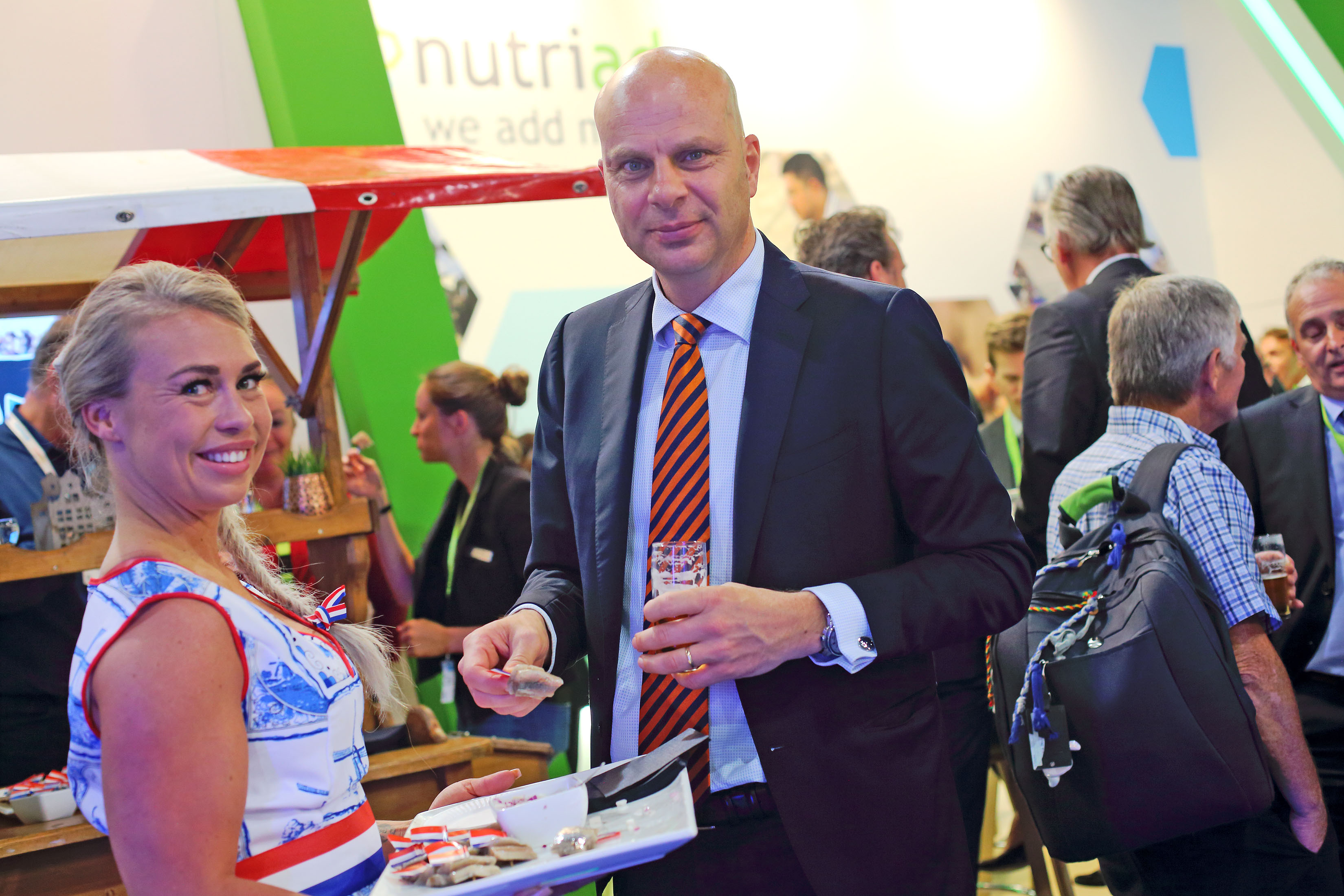 NUTRIAD HOST TRADITIONAL HERRING PARTY