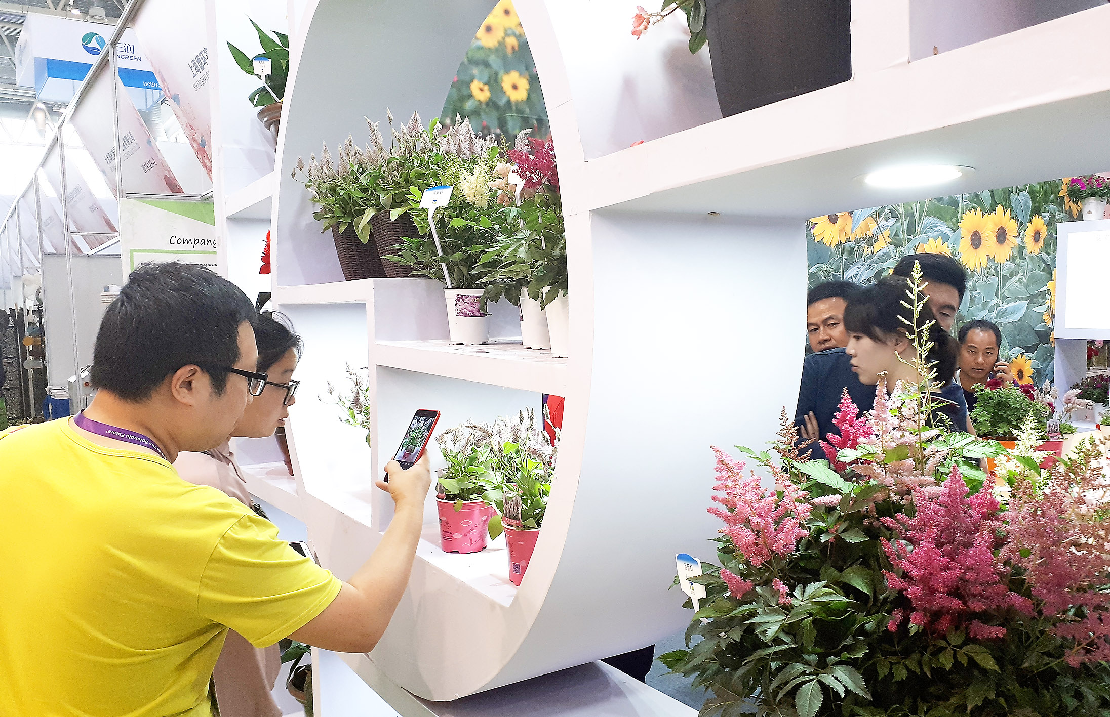 Hortiflorexpo IPM Beijing 2018 Registers Substantial Pluses with Regard to the Area, the Exhibitors and the Visitors
