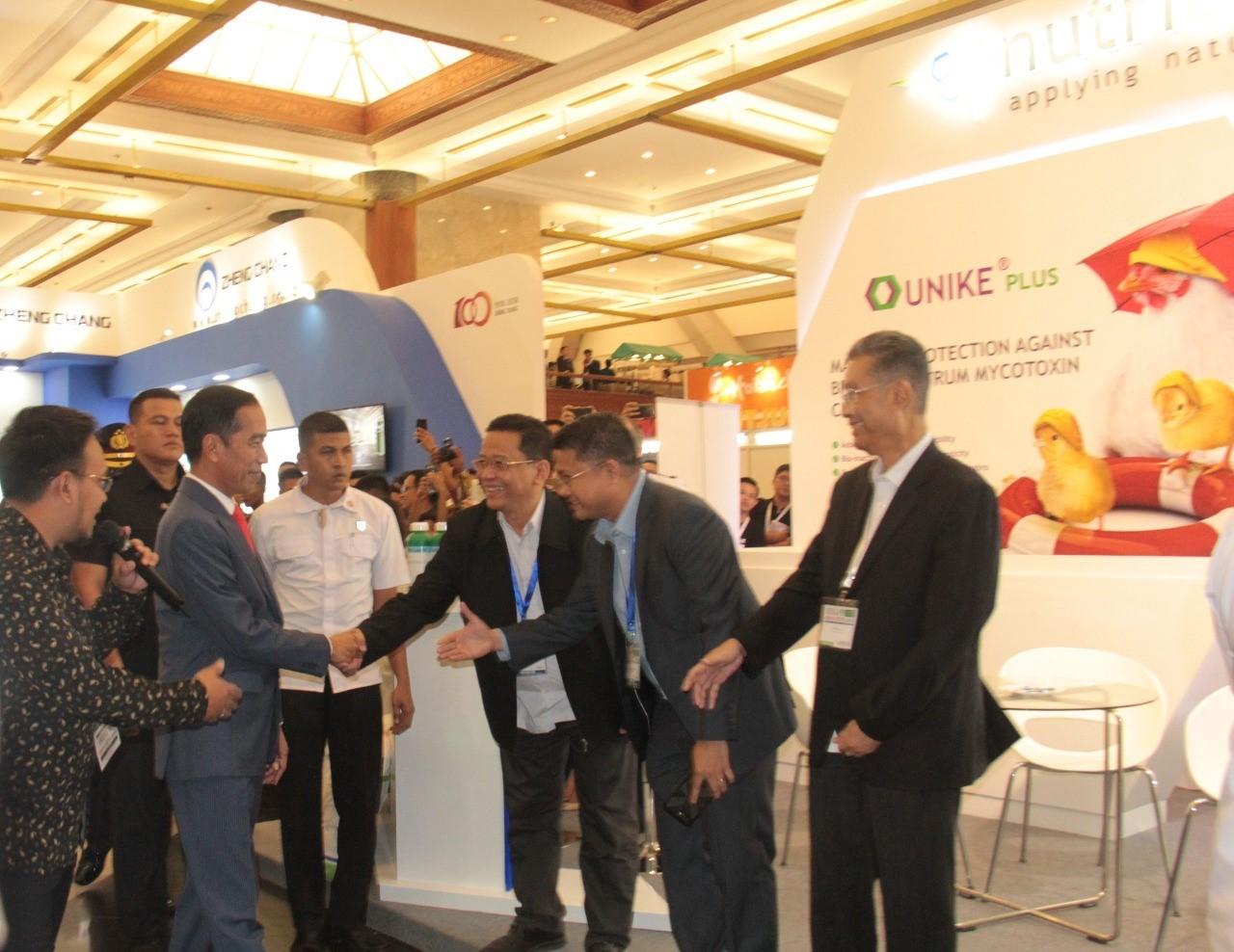 NUTRIAD DRAWS PRESIDENTIAL INTEREST AT INDO LIVESTOCK