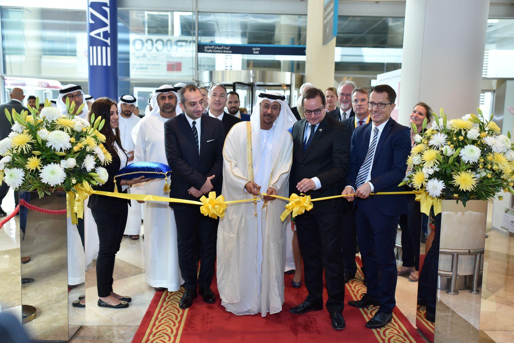 Al Hajiri inaugurates International Plants Expo Middle East 2018 & International Perishables Expo Middle East 2018