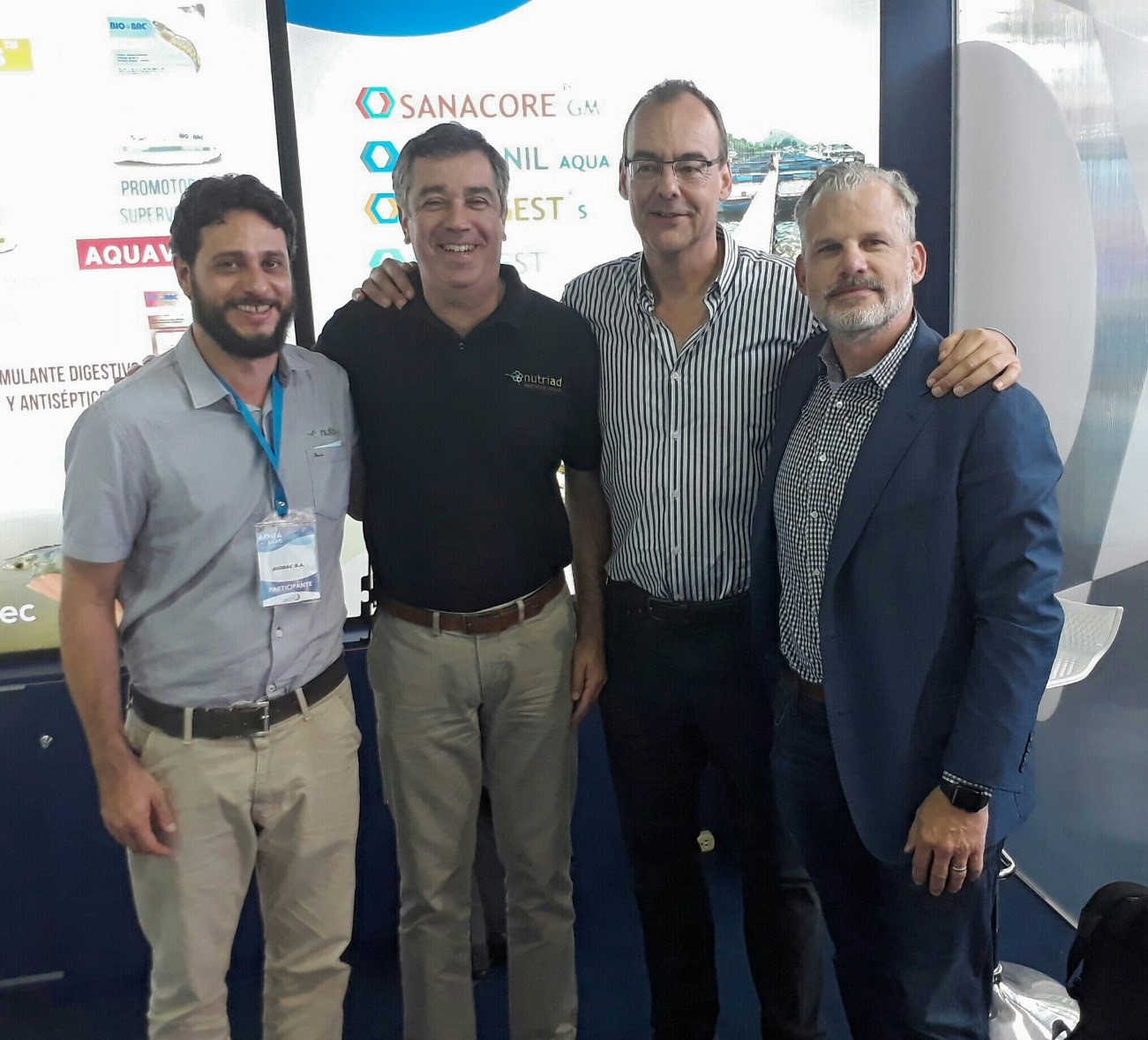 NUTRIAD PRESENT AT AQUAEXPO ECUADOR