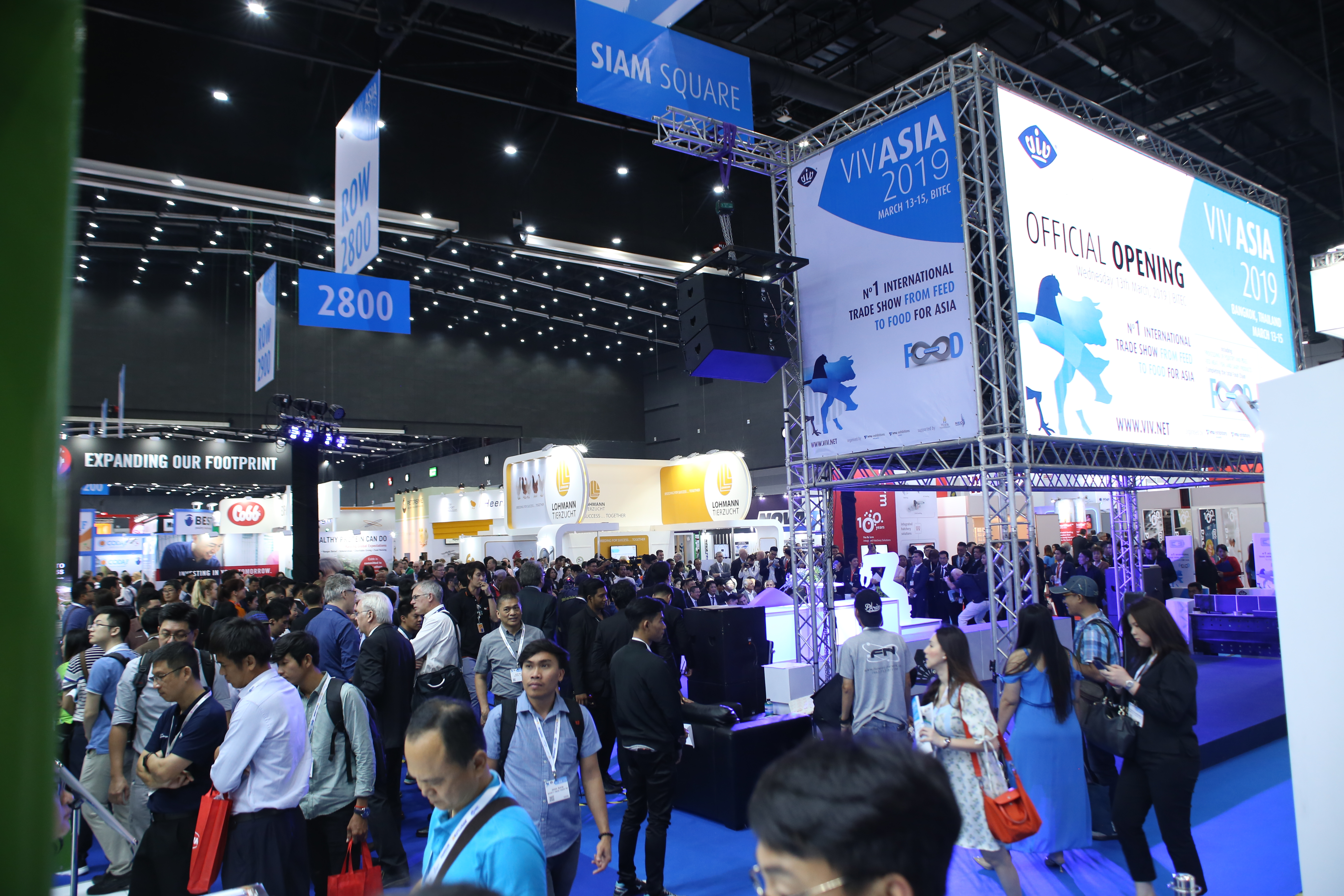 VIV Asia 2019 wins visitors' increase from overseas The show receives again more than 45,000 visits