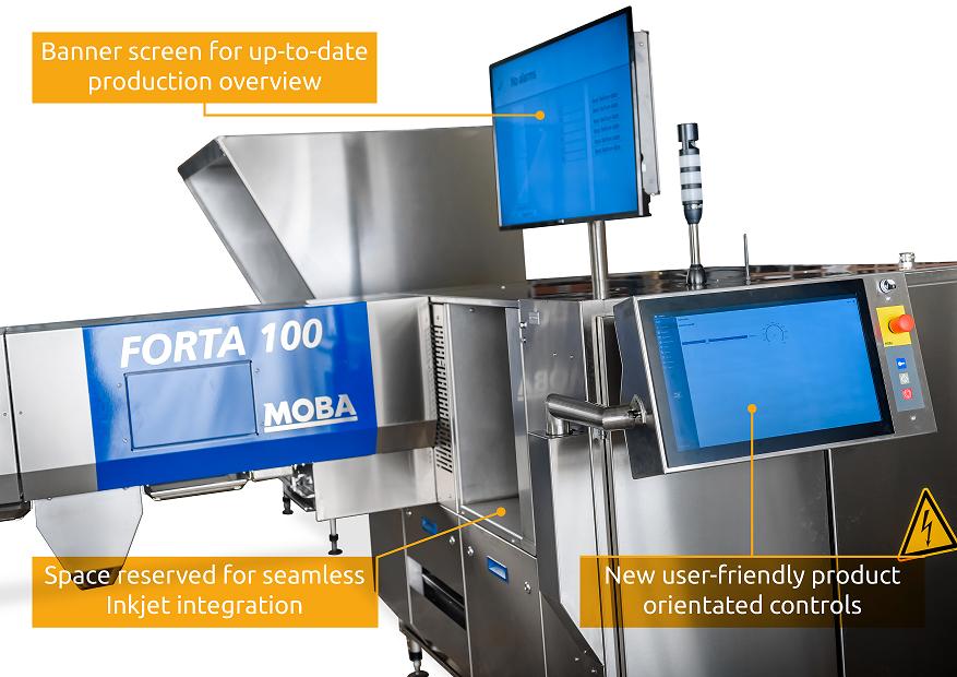 MOBA FORTA GT100 : THE GAMECHANGER IN EGG GRADING