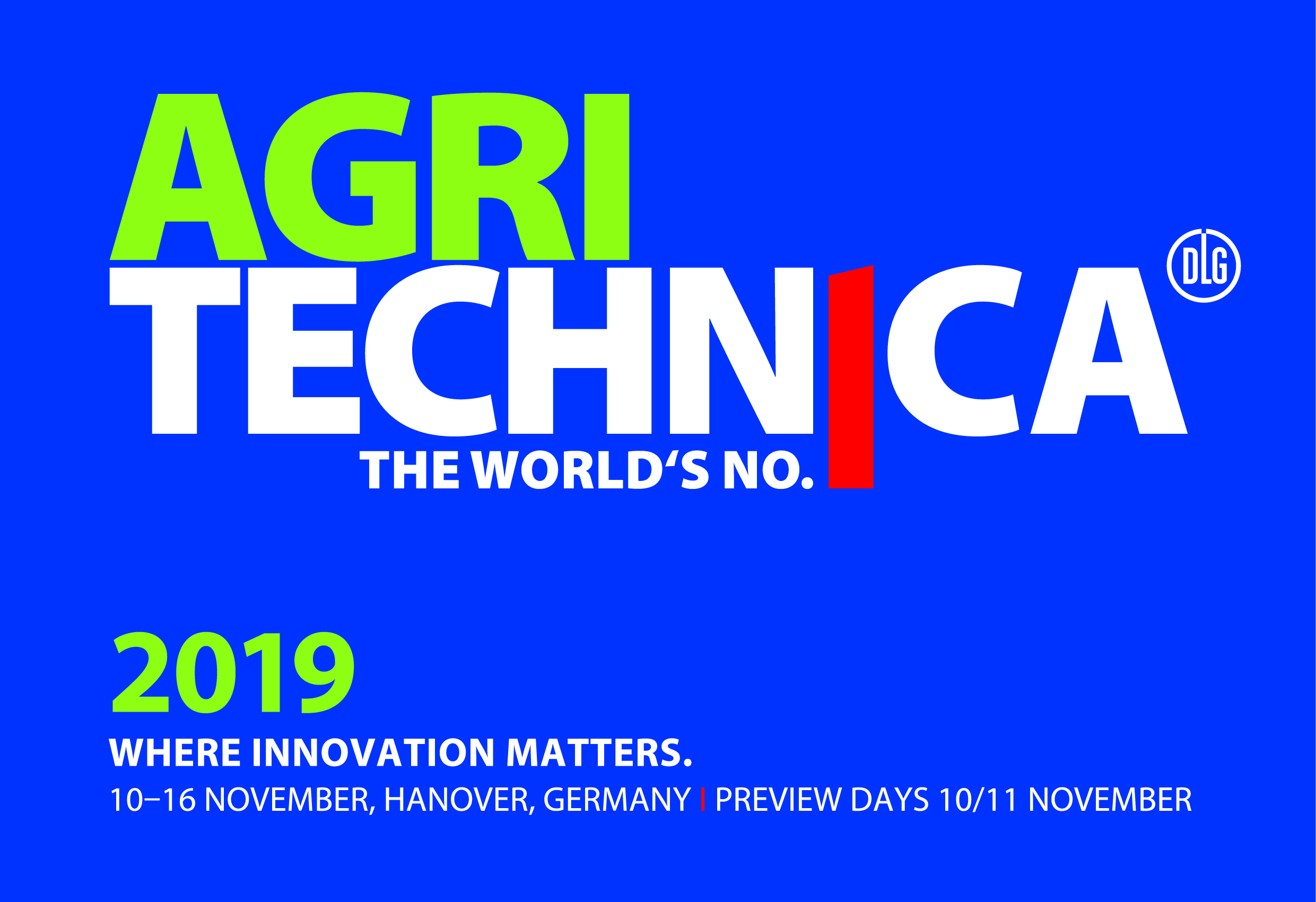 AGRITECHNICA 2019: Global Farming – Local Responsibility