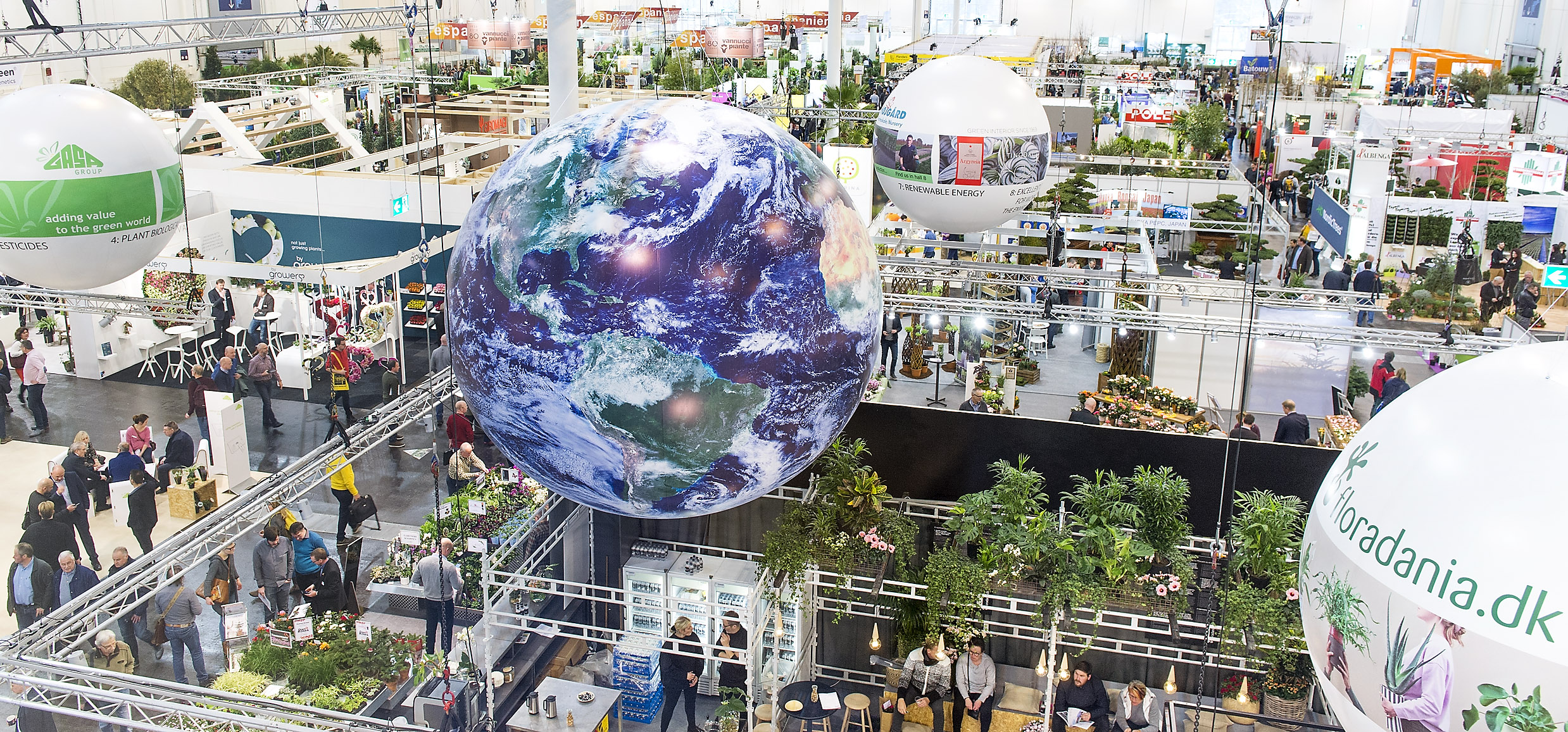 The world's leading horticultural trade fair from 28 to 31 January for the first time, at the completely modernized Messe Essen