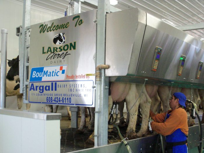 LARSON ACRES: MILK MAKES FAMILY STRONGER