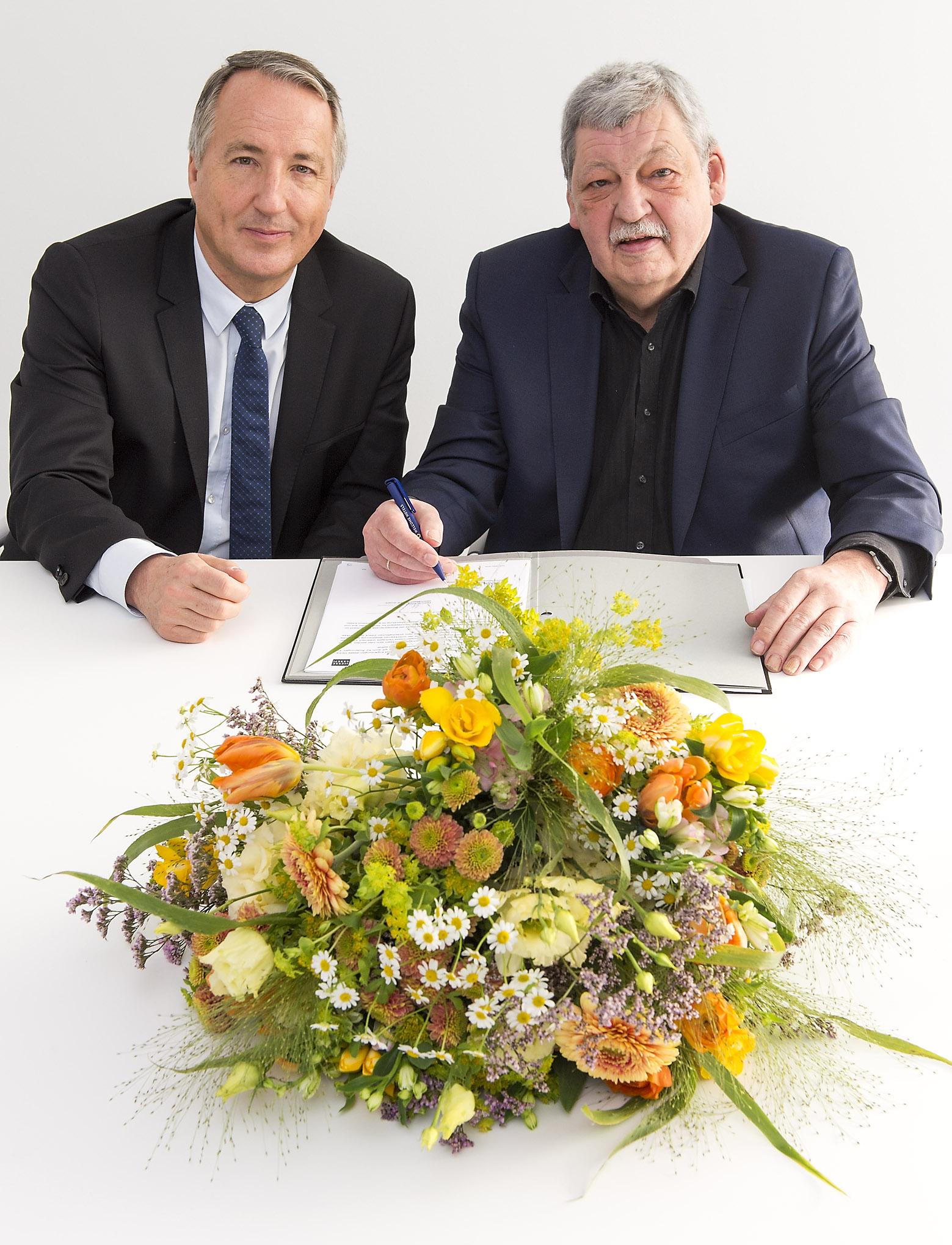 Messe Essen and Trade Association of German Florists (FDF)