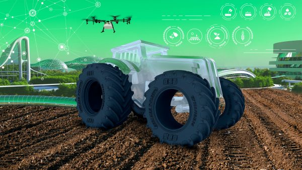 THE TRACTOR OF THE FUTURE? HERE IS ITS IDENTIKIT