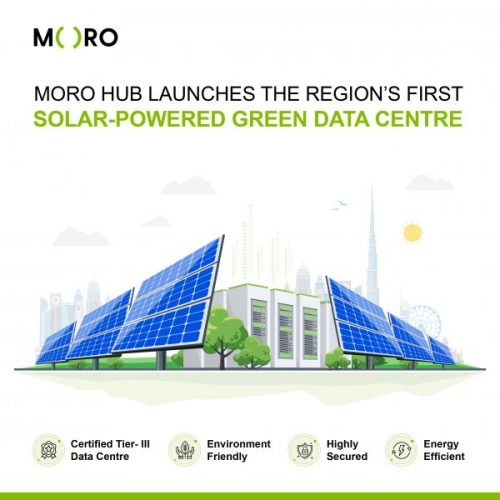 Moro Hub launches the region's first solar-powered Green Data Centre at WETEX 2020